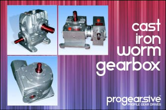 Cast-Iron Worm Gearboxes